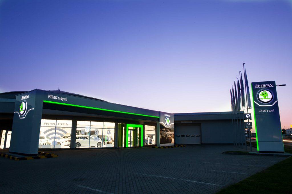 Autokomplex ŠKODA Malacky